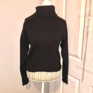 Zara black turtleneck sweater long sleeve